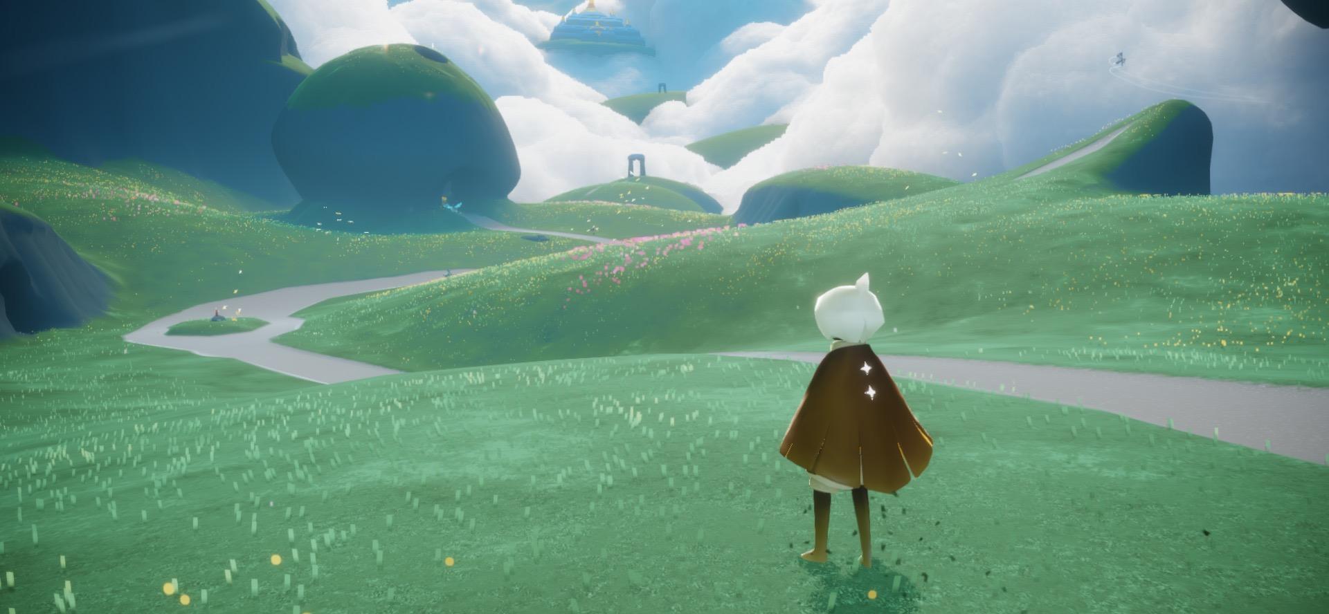 《Sky 光·遇》游戏截屏。