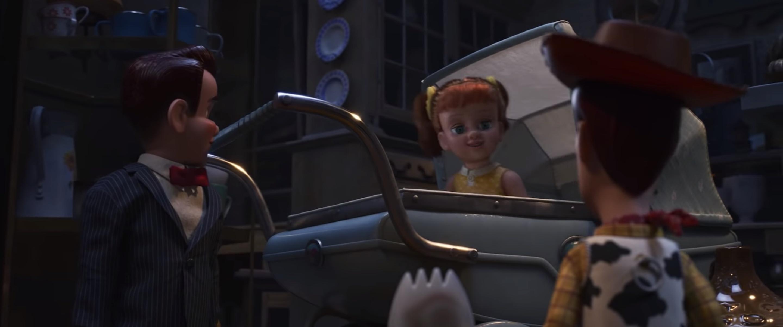 电影中略显恐怖的 Gabby Gabby,最终也找到自己的归宿。